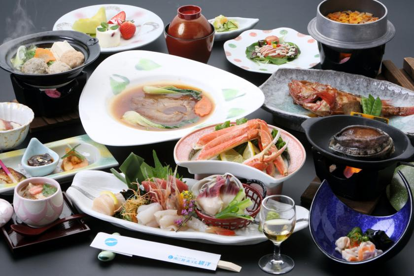 <Official Homepage> 【Chef's Recommended Plan】 Luxury fresh seafood. Dinner meal ♪ memorable chef's skills ♪