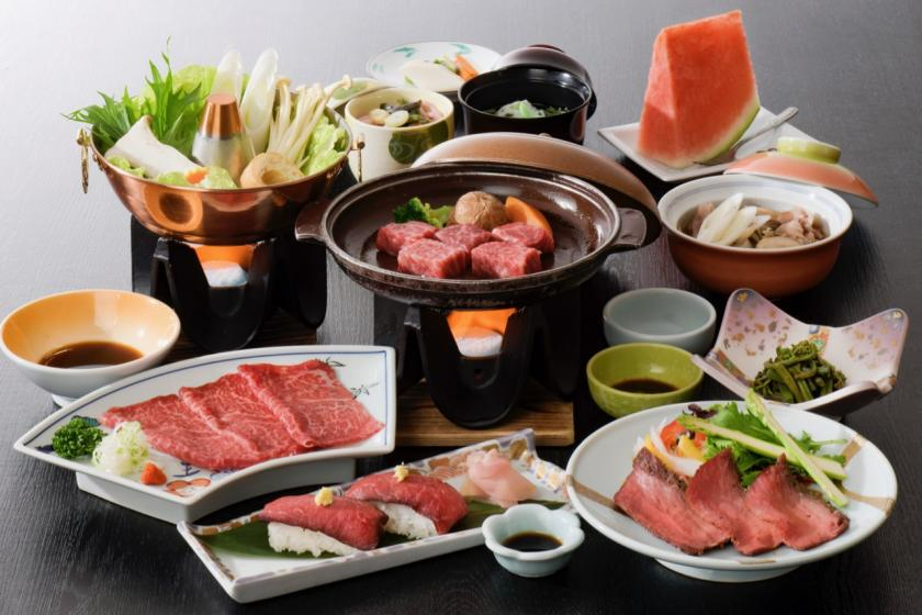 天童に来たらまずはこのプランに「王手!」肉の旨さ・価格・比べてみてケロ。舞鶴荘のお肉で幸せあれ♪