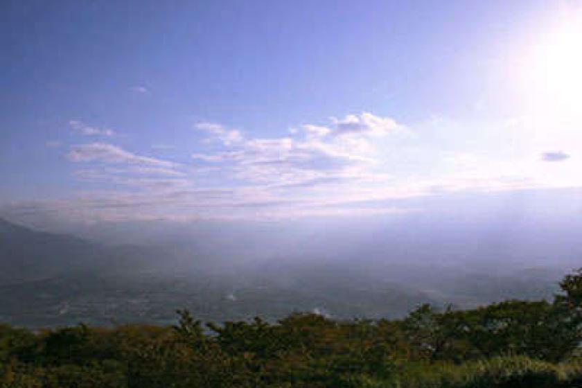 【Go To トラベルキャンペーン割引対象】厳選素材で贅沢旅を満喫!標高417メートルからの絶景と郷土会席を堪能♪グレードアップ会席!