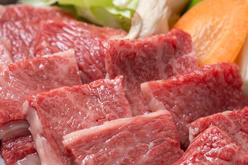 ☆【ひとり旅・出張ビジネス歓迎】愛情ギュウギュウ♪山形牛120g陶板焼き&芋煮付き!