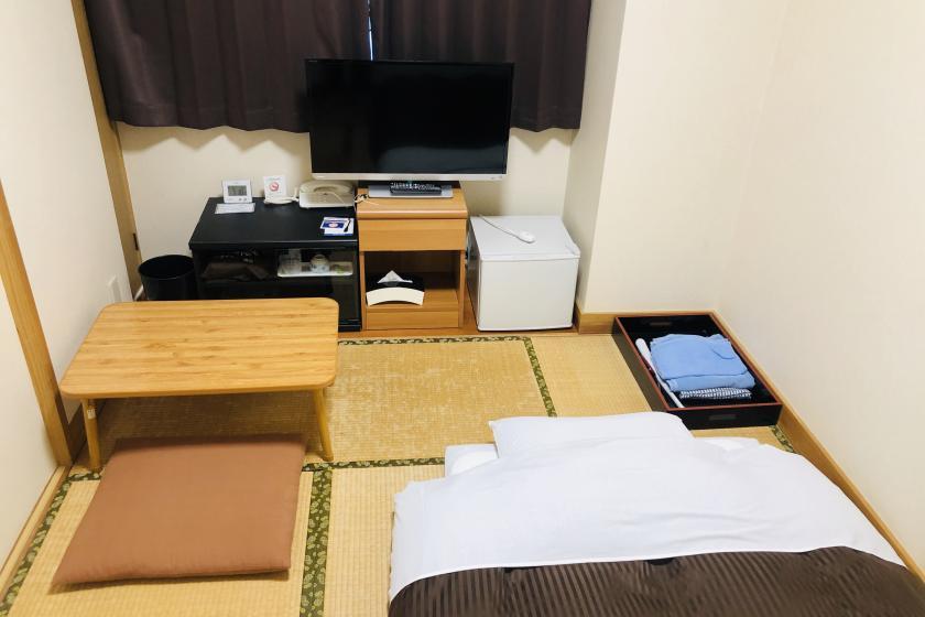 標準日式客房(供單人住宿,帶單元浴缸),禁煙