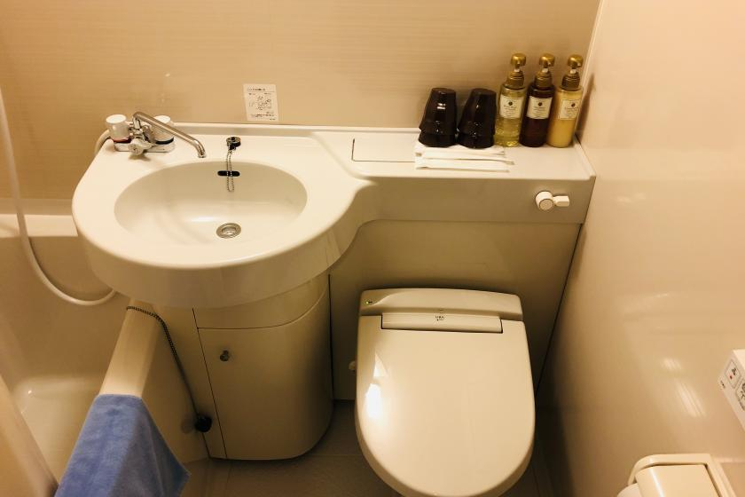 ★ Limited price plan ★ Recommended for traveling alone! Free light breakfast! In bath single (with unit bath)