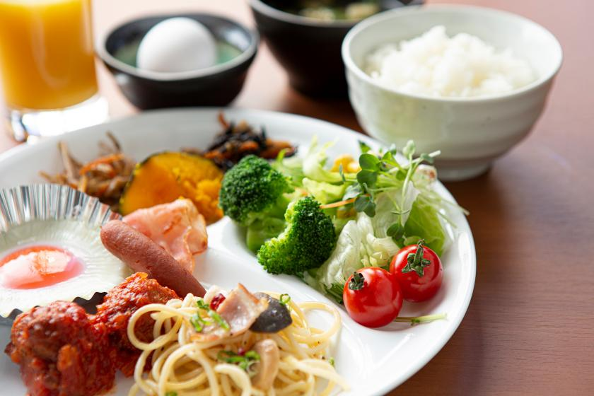 [Double deals with early and late! 】 It is advantageous at 13:00 in 12:00 out ☆ Buffet breakfast is free ☆ VOD is unlimited ☆