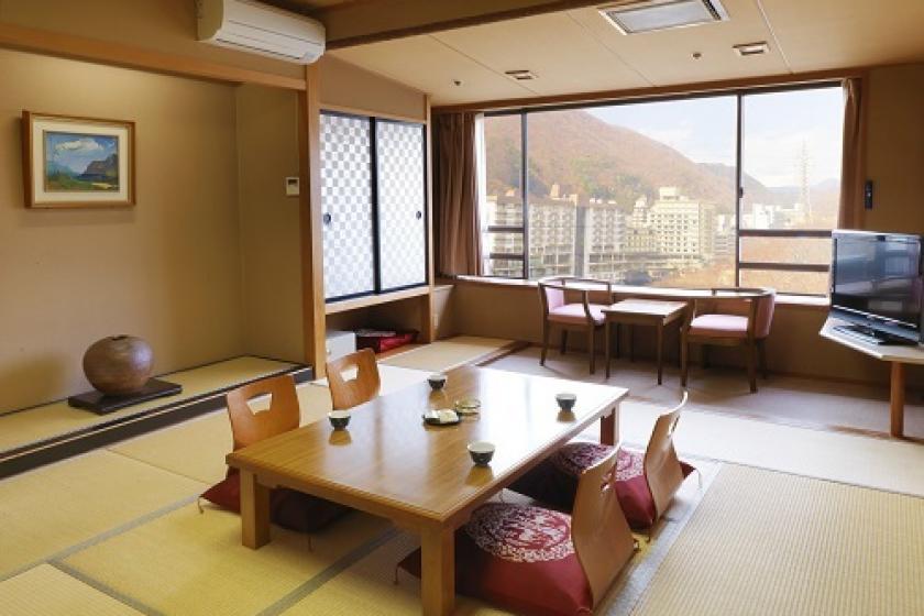 アップグレードのお部屋 【喫煙】本館〇月光 和室(鬼怒川側)