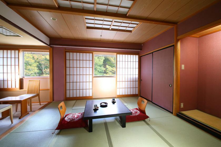 【喫煙】本館〇月光 和室 12畳(山側)