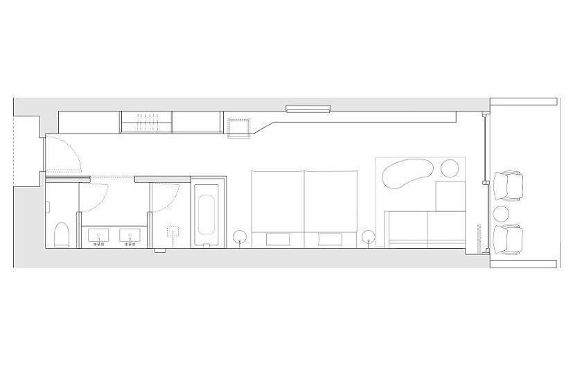 Garden Terrace Deluxe Double (1st Floor)