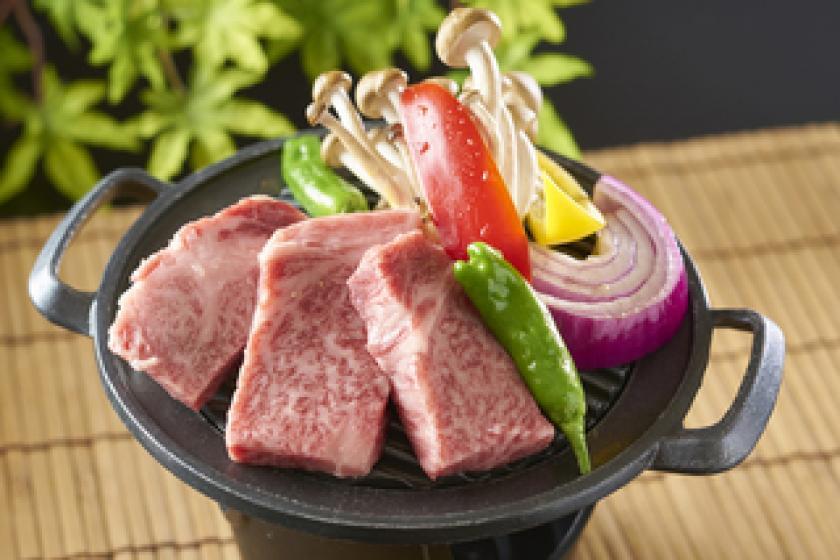【飛騨牛ステーキ付】3日前までの数量限定★1泊2食バイキングプラン <6/30まで かに食べ放題>