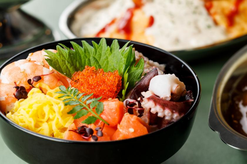 <Go To Travel Campaign Discount Target> [From morning Kanazawa B-class gourmet] Enjoy over 30 kinds of buffet such as Kanazawa curry, hanton rice, and mini seafood rice bowls you make yourself