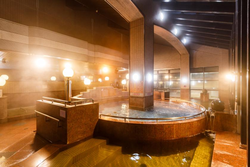 <Discount for Go To Travel Campaign> [Special Offer from Terme Kanazawa] A special discounted breakfast is included on the website! Special price invitation to Hokuriku's largest hot spring park! !!
