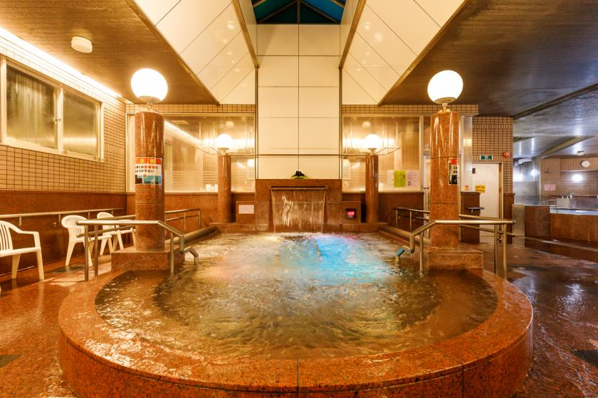 <Go To Travel Campaign Discount Target> [Stay without meals] Enjoy a relaxing hot spring tour at the largest hot spring park in Hokuriku