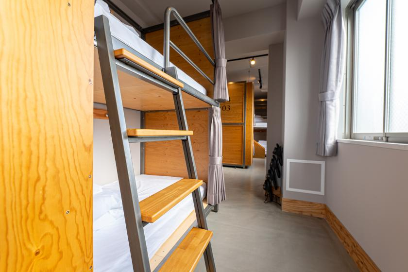 Mixed dormitory BUNK BED