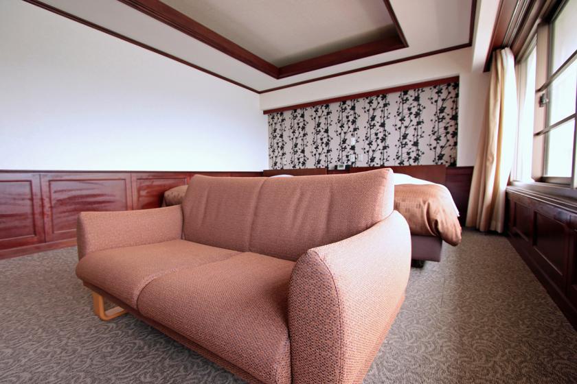アップグレードのお部屋:【禁煙】和洋室/最上階(特別室)