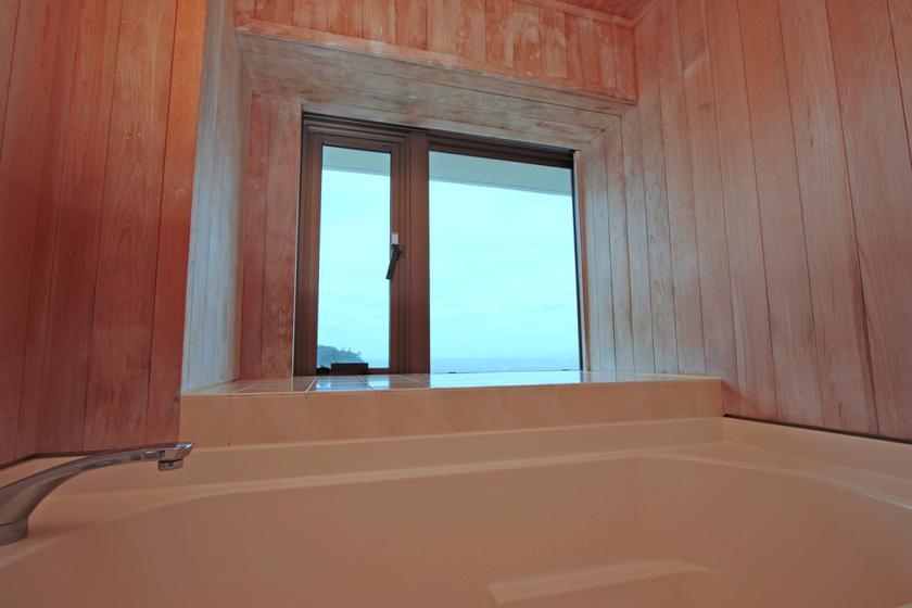 アップグレードのお部屋:【禁煙】和室 10畳/海の見える内風呂付