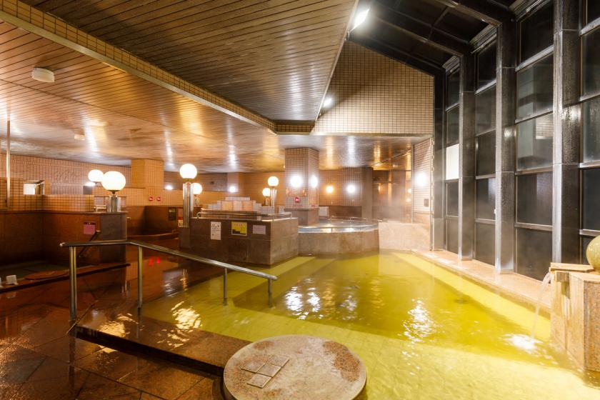 <Go To Travel Campaign Discount Target> [Business trip to Kanazawa] Enjoy a natural hot spring and a refreshing single drink <1 minute from Kanazawa Nishi Interchange>