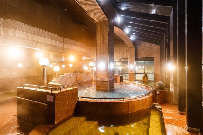 <Go To トラベルキャンペーン割引対象>金沢観光は車が便利♪駐車場無料&カップル特典付き~夜は 10 種の天然温泉でのんびり~