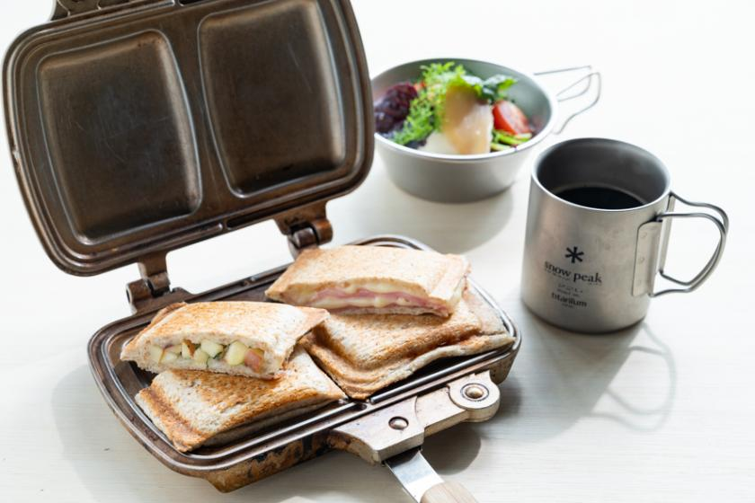 CAMPプラン/キャンプサイト STAY/Restaurant雪峰ディナー&朝食付き