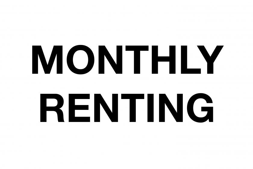MONTHLY RENTING (한달 이상 전세)
