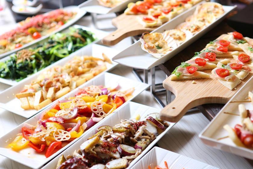 【スタンダードプラン】当館一番人気 1泊2食バイキング付