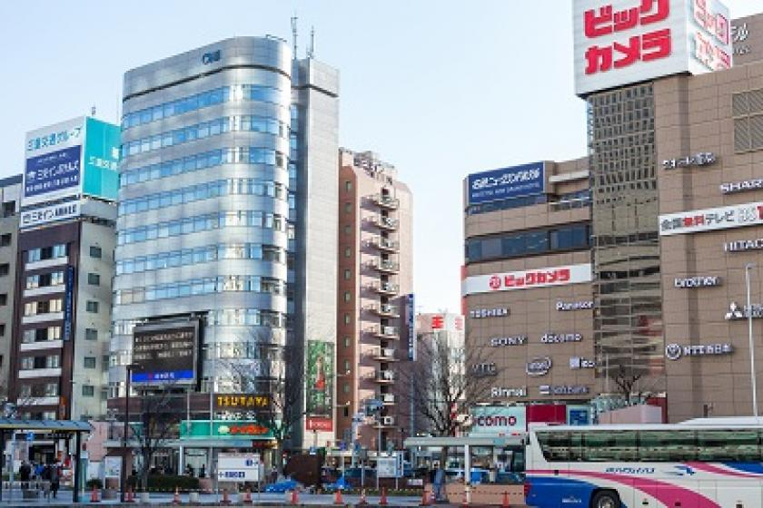 <一般>JR名古屋駅から徒歩1分!【朝食付】スタンダードプラン