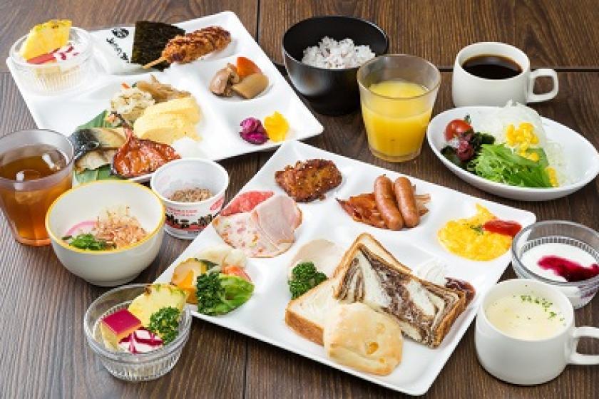 <会員>【20周年記念】ホテル「自慢の朝食」二度美味しい!~最高の朝は三交インから~