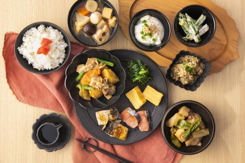 [Limited to those who stay for 4 consecutive nights or more! Half price for breakfast! Comfortable long-term stay at a hotel with a large communal bath] Long-term consecutive nights support plan with buffet breakfast