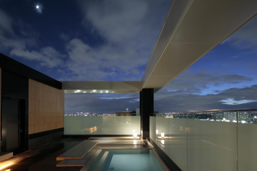 [Special Price] Leave room type and check in after 18:00 and stay at a great price! The Sky Spa can be used overnight!