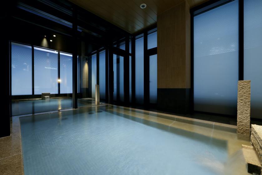 【2連泊以上限定!】露天風呂付きの大浴場とサウナのあるホテルでゆったり連泊プラン ビュッフェ朝食付き