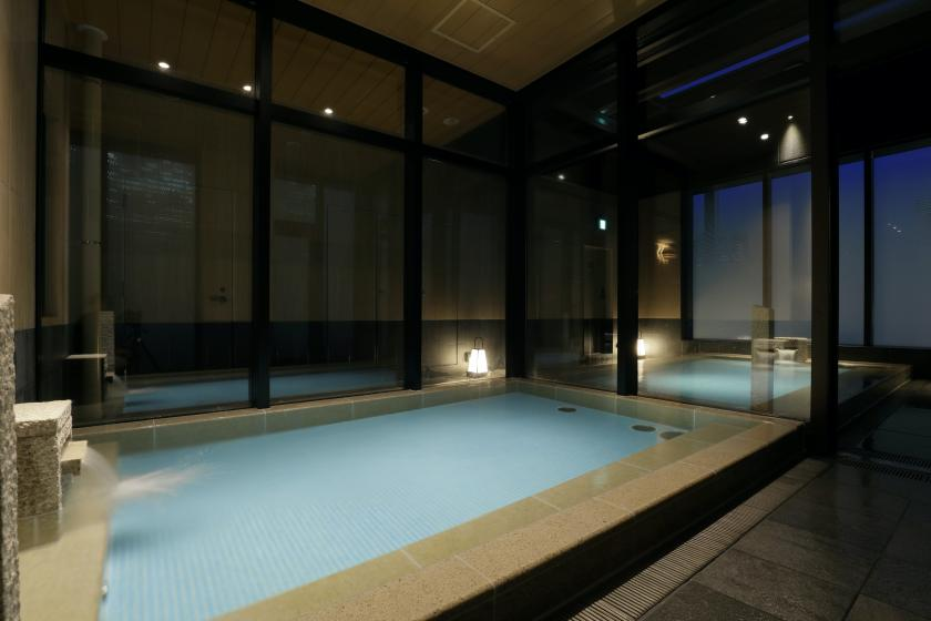[Man sleep run! ] A comfortable hotel stay with a large communal bath and sauna for 7700 yen per night! <No room / cleaning>
