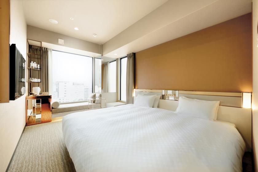 【お日にち限定プラン!】最上階の露天風呂と広々キングベッドで快適ステイ 素泊まり