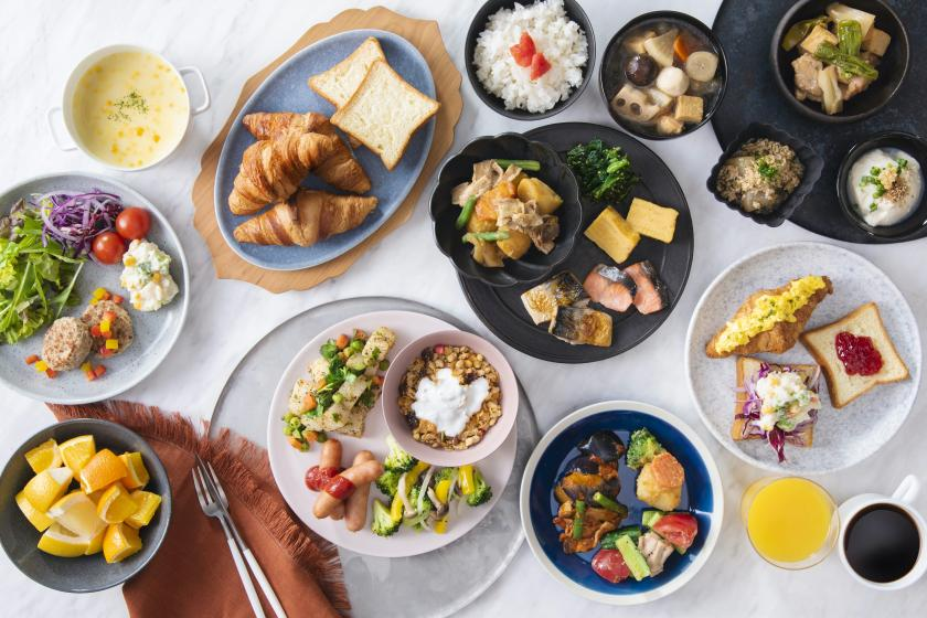 3密回避の朝ごはん 日替わりビュッフェをゆったりとしたラウンジで堪能(朝食付)
