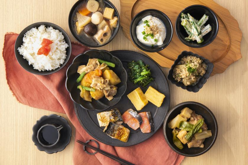 [Satisfied from the morning] Daily gorgeous chirashizushi with crab, eel and beef! Buffet breakfast included plan