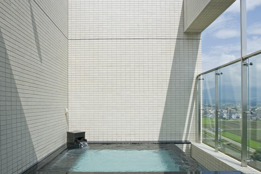 [Opening of all of the Hoyo Line] Kyushu residents only A relaxing trip at the sky spa on the top floor. Late check-out 12:00