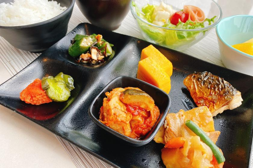 3 Dense avoidance set meals Enjoy daily set meals in a spacious lounge (with breakfast) Hasedera admission discount ticket