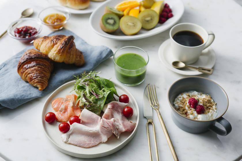 地元京都の食材が彩を添える~ご朝食付ステイ