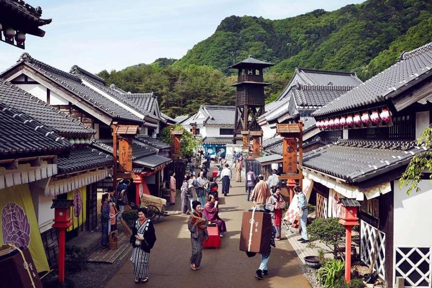 【チケット付】日光江戸村入場券付きプラン 1泊2食付 江戸時代の文化や食事で江戸時代を体験しよう。