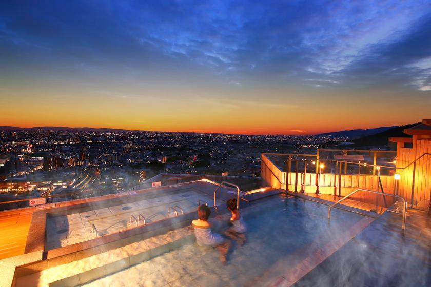 【スタンダードプラン】標高180mの天空露天風呂を楽しむ 1泊2食付 朝夕計230種類のバイキング!<~6/30 心ゆくまで味わえる『かに食べ放題』>