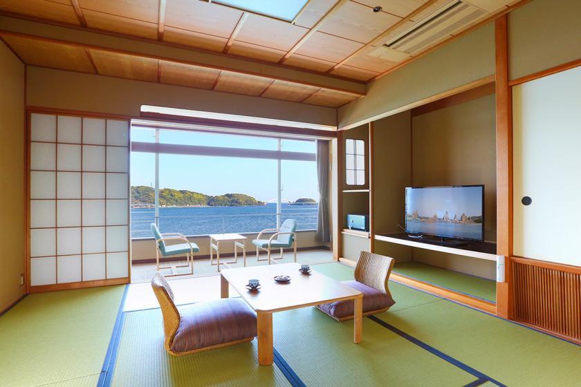 【スタンダードプラン】雄大な太平洋の絶景をひとり占め! 1泊2食付 <9/1~11/30 勝浦港水揚げ生まぐろ&かに食べ放題>