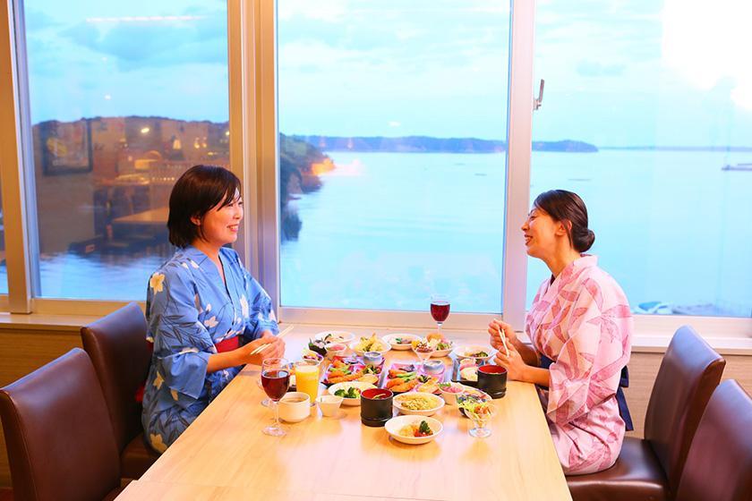 《土曜・特定日》【売店利用券2,000円分付】旅の思い出に♪1泊2食バイキングプラン