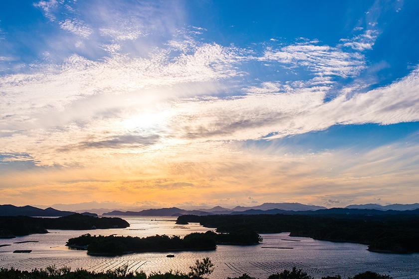 【英虞湾満喫クルーズ付】夕方16:00発 かご漁も体験★1泊2食バイキングプラン
