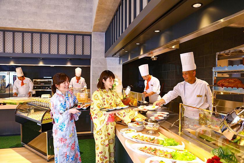 【スタンダード】当館1番人気 1泊2食バイキングプラン
