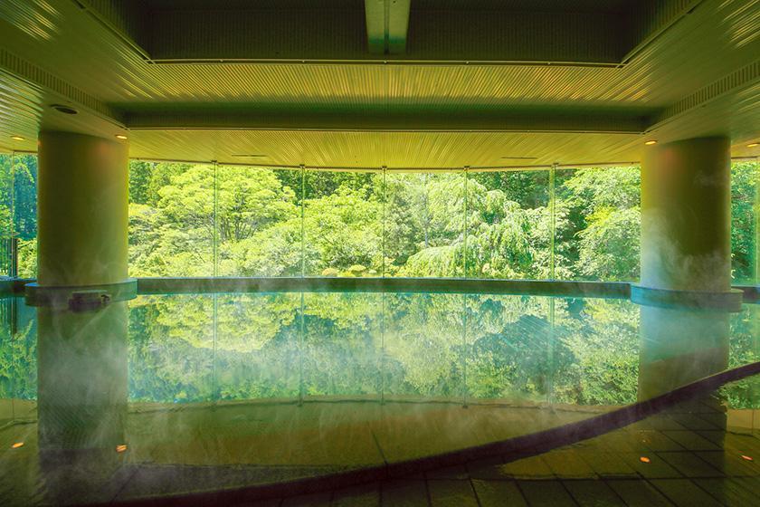【自由気ままにひとり旅】温泉でのんびり寛ぐ自分だけの贅沢時間 1泊2食付バイキングプラン<3/19~6/30 かに食べ放題>