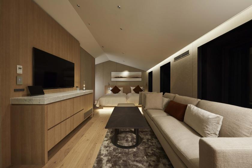 Maisonette (double room + living/twin room) 2nd & 3rd Floor