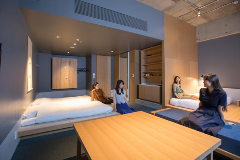 [最多4人]普通套房:日式