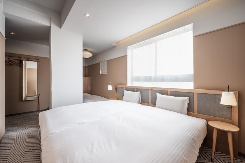 스탠다드 3 (ST3) / 싱글 침대 2 개 요 1 장 / 23㎡ / 금연