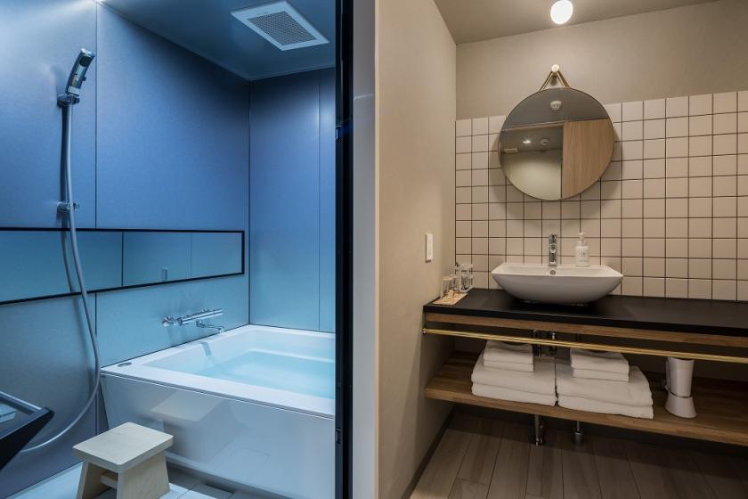 슈페리어 4 (일본 스타일) 실외 인접 욕실 (SP4JO) / 요 3 장 소파 침대 1 개 / 32 ㎡ / 금연