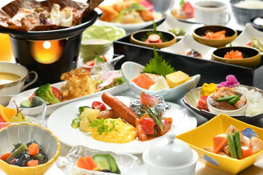 朝食ビュッフェ付き宿泊プラン(全室禁煙)
