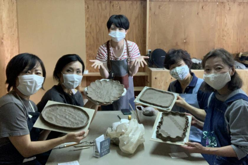 Pottery experience plan at the base of Mt. Myoko (with 2 meals)