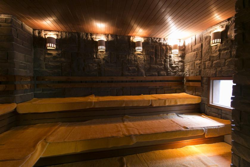 sauna&Sauna & Capsule Hokuoh
