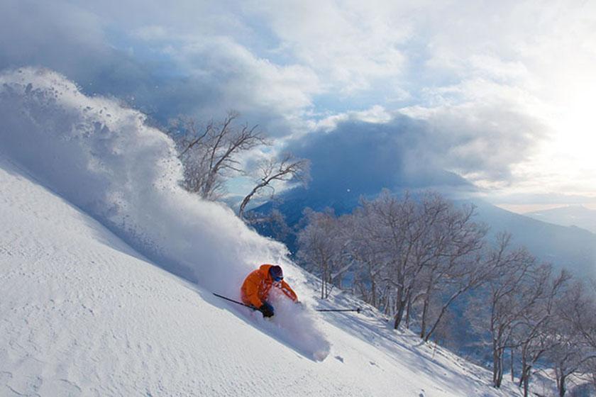 【純白のパウダースノーを滑り放題】ニセコスキーパッケージ  全山リフト券&朝食付