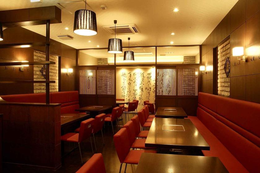 神戸牛ステーキや火鍋をお得に堪能できる!地元名店のお食事券1人1泊あたり3500円分付(朝食付)